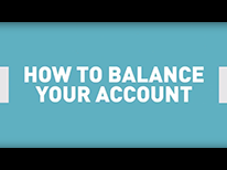 Video: How to balance your account
